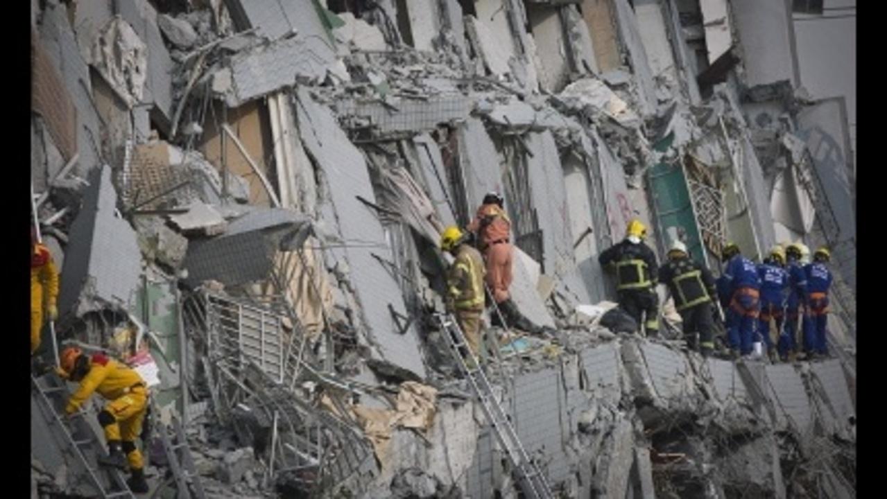 Magnitude 6 4 Earthquake Hits Taiwan 14 Dead