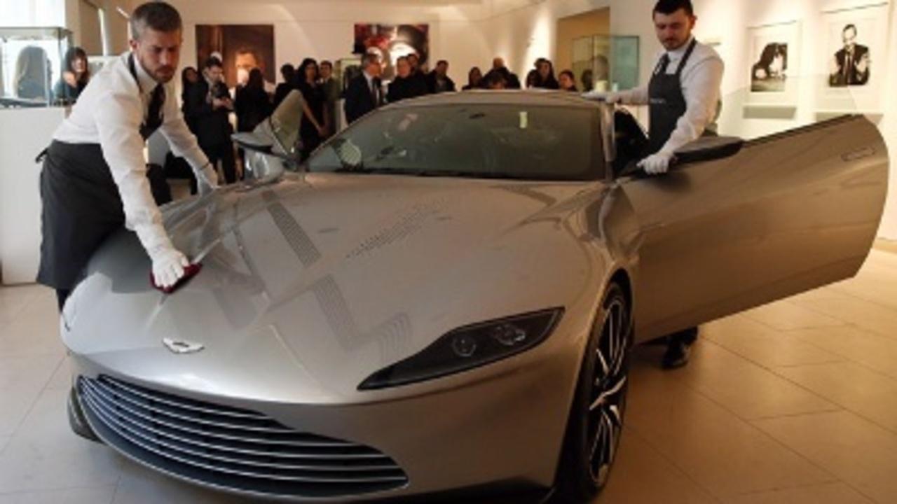 This 3.5 Million James Bond Aston Martin Will Make You Feel Like the Super-Spy