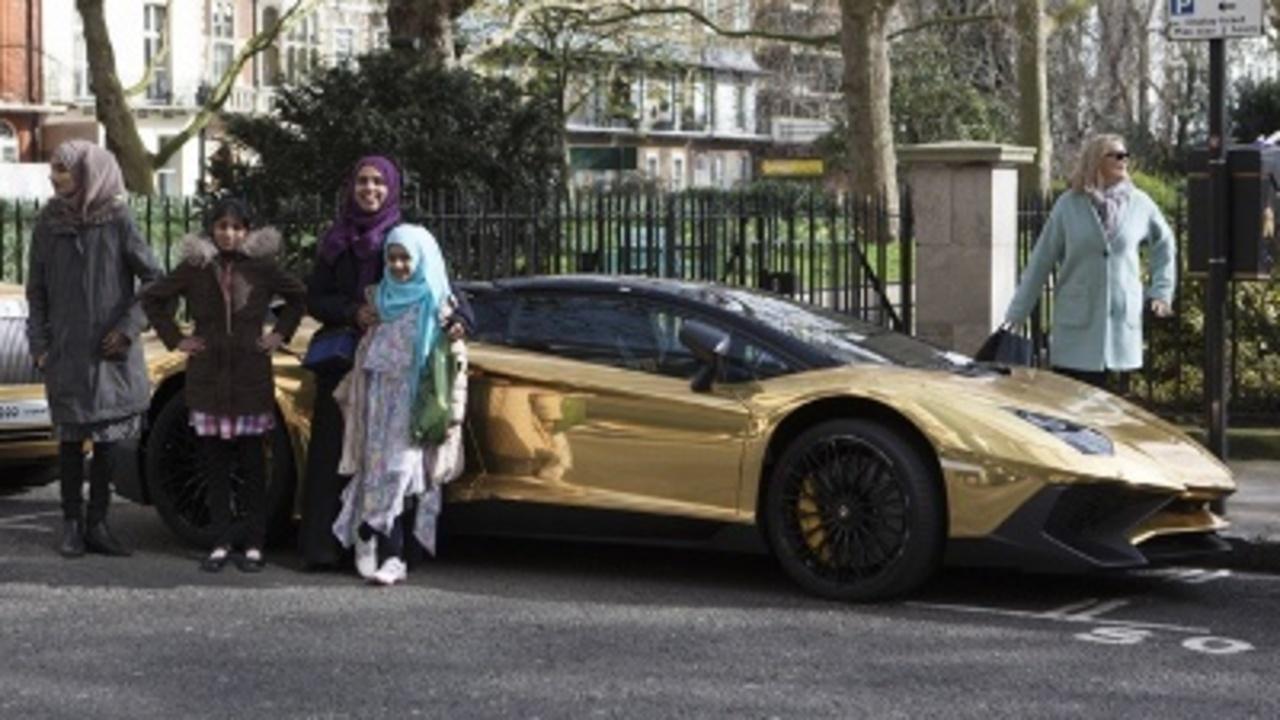superrich saudis gold cars hit london