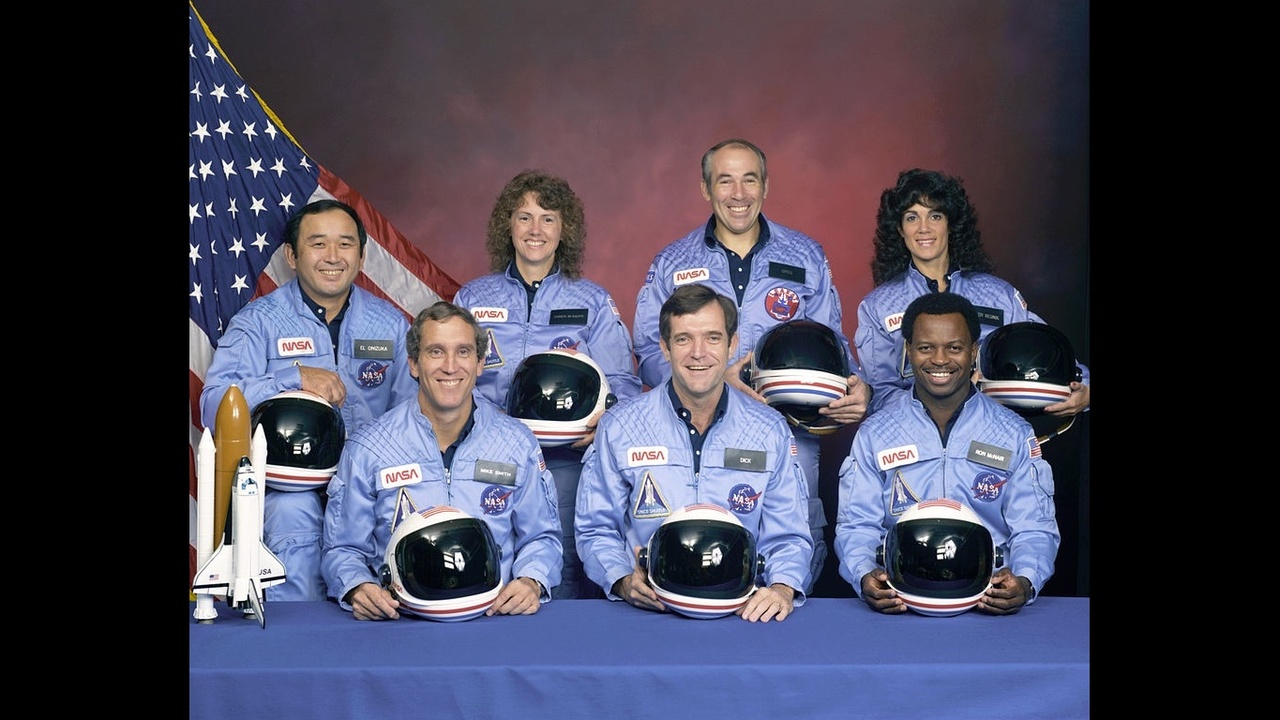 space shuttle challenger 33 years ago - photo #3