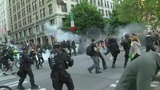 May Day rallies produce arrests, injuries