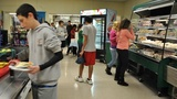 A stranger walks into a school and pays off all overdue lunch balances