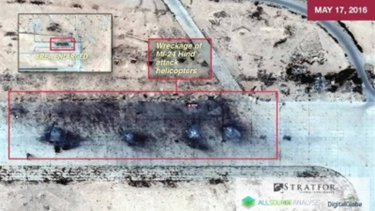 Did ISIS destroy Russian equipment at key Syrian base?