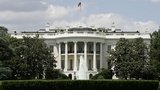 White House on lockdown after object thrown over gate