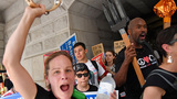 Inside the 'Democracy Spring' protests at the DNC