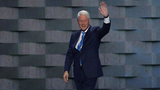 Bill Clinton embraces role of political spouse
