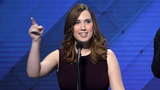 Former WH staffer is 1st transgender woman to address DNC