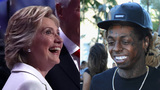 Clinton 'No ceilings' line recalls Lil Wayne