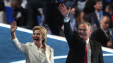 Clinton, Kaine stump together after conventions