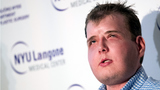 Firefighter describes life after historic face transplant