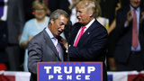 Trump gets boost from Brexit leader