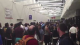 Loud bangs lead to chaos at Los Angeles airport