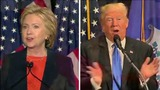 Poll: Clinton favorability slides to equal Trump