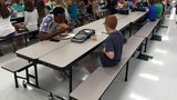 FSU football player wins hearts sharing lunch