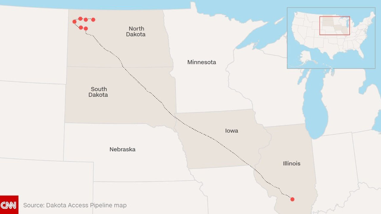 What To Know About The Dakota Access Pipeline