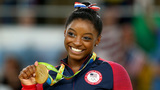 Simone Biles, Team USA gymnasts put on a show in Houston