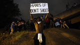 Charlotte protesters remain after curfew