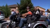 101-year-old gets one last ride on a Harley