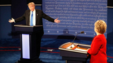 Fireworks dominate Clinton, Trump debate