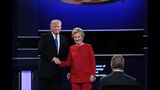 Trump, Clinton open historic debate with handshake