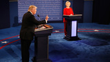 Trump, Clinton spar on trade, taxes, emails