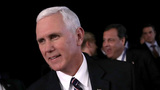 Pence appears at odds with Trump on climate change