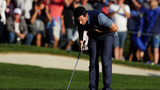 Ryder Cup: Europe cuts US lead on opening day at Hazeltine