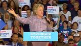 Clinton slams Trump about Twitter attack