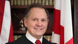 Alabama Chief Justice Roy Moore suspended over same-sex marriage order