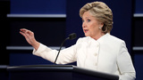 Did Hillary Clinton reveal classified intel at debate?
