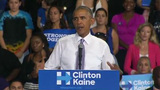 Obama slams Trump's 'rigged' election claims as 'dangerous'