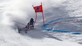 Lara Gut takes early lead in slalom opener