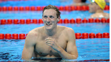 Swimmer thanks fan who raised alarm over mole