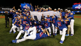 Chicago Cubs, fans celebrate NLCS victory