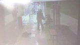 Camera catches parent punching kid at school