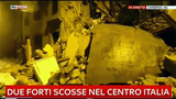 Rubble litters ground after Italy earthquakes