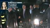 Pence's plane skids off runway