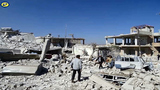 Syrian airstrikes hit school killing 35, monitor says