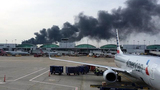 At Chicago O'Hare, American Airlines 767 catches fire on runway