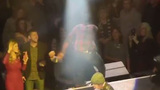 Luke Bryan hits concert-goer