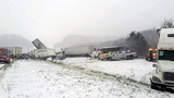 Dozens of cars involved in Ohio pileup
