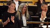 Patti Smith stands in for no-show Bob Dylan at Nobel ceremony