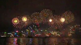 Honk Kong New Year's Eve fireworks