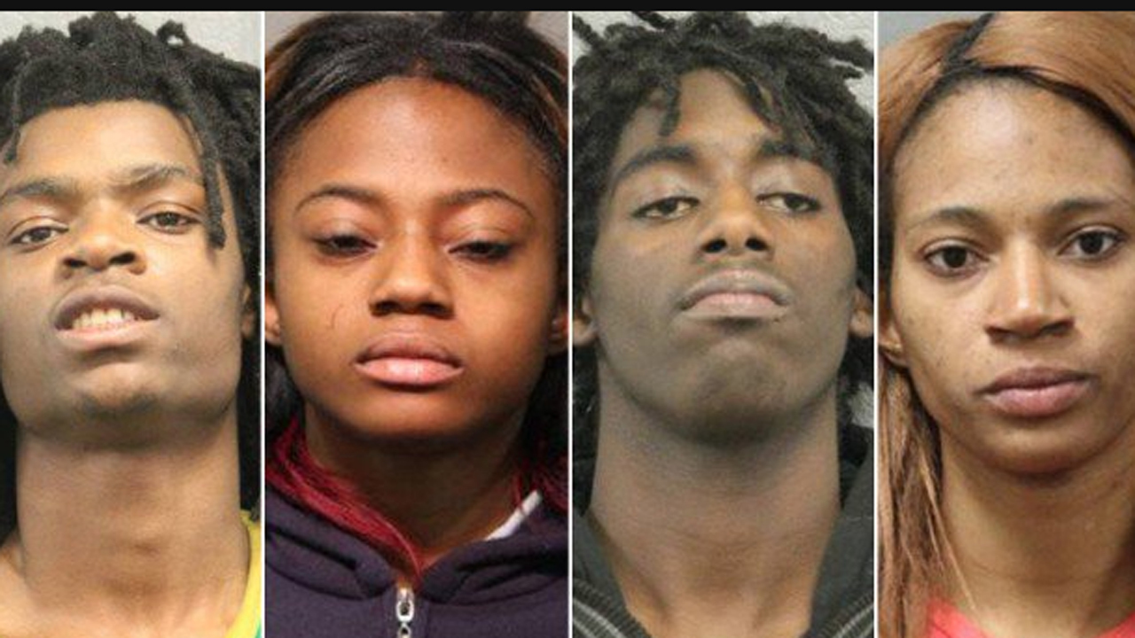4 charged in connection with torture streamed on Facebook