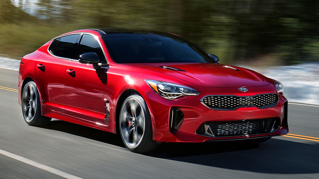 kia stinger performance sedan bows at 2017 detroit auto show. Black Bedroom Furniture Sets. Home Design Ideas