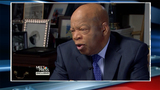 Cheering crowds swarm Rep. John Lewis at DC airport