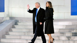 Trumps attend inaugural concert in Washington