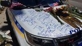 Slain Orlando police officer's car vandalized
