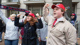 Trump protesters, supporters mark inauguration