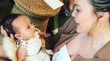Chrissy Teigen Shares Adorable Video of Baby Luna Waving 'Hi' -- Watch!